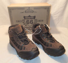 Men's Boots Leather Size 12 Brown  Footwear Route 66  Suede Hiker