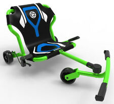 EzyRoller Pro X Kids 3 Wheel Ride On Ultimate Riding Machine Green NEW