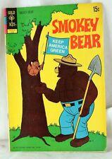 1972 Smokey Bear Comic Book #10 TV Series Cartoon Videocraft International
