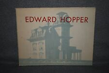 EDWARD HOPPER, 1950 Retrospective Exhibition by Lloyd Goodrich