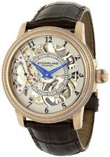 Stuhrling Original Mens 22833452 Boardroom Brumalia Mechanical Skeleton Watch