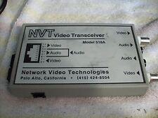 Nvt Dual Audio Video Transceiver 518A-shelf-C