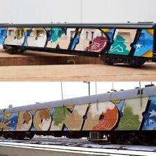 """PNSHR """"hommage à dondi"""" peinture sur maquette train signée +COA -cope2/taki/seen"""