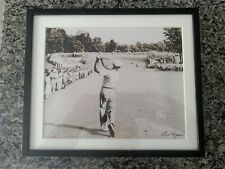 Ben Hogan Famous 1 Iron Shot Framed