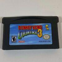 Donkey Kong Country 3 (Nintendo Game Boy Advance, 2005) GBA