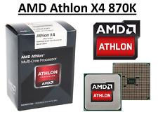 AMD Athlon X4 870K Quad Core Processor 3.9 - 4.1 GHz, Socket FM2+, 95W CPU
