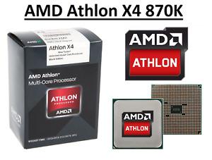 AMD Athlon X4 870K Quad Core ''Godavari'' 3.9 - 4.1 GHz, FM2+, 95W CPU Only