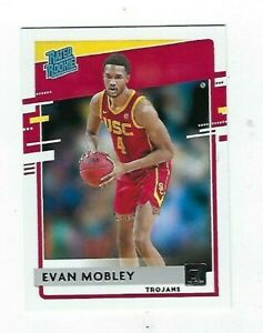 2021-22 CHRONICLES DRAFT PICKS EVAN MOBLEY DONRUSS RATED ROOKIE #27
