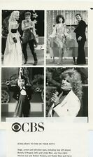 LINDA BLAIR MICHELE LEE DOTTIE WEST 8TH ANNUAL CIRCUS OF THE STARS CBS TV PHOTO
