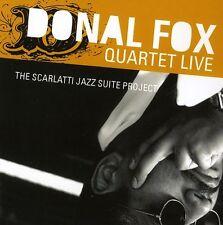 Donal Fox - Donal Fox Quartet Live: The Scarlatti Jazz Suite P [New CD] Duplicat