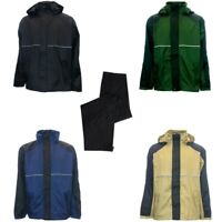 New Weather Company Golf Hooded Waterproof Rain Suit - Choose Size & Color!