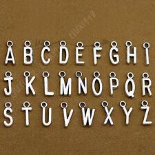 SET (A-Z) 26 Alphabet Letter Charms Pendants Beads Jewellery Making