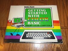 1981 Tandy Getting Started With Color Basic Book