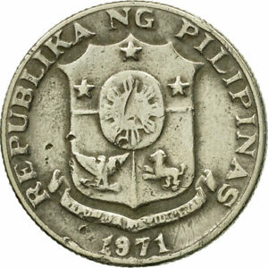 [#548121] Coin, Philippines, 10 Sentimos, 1971, VF(30-35), Copper-nickel, KM:198