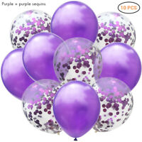 50pcs Birthday Wedding Party Baloons Ballons Rose Gold Foil And Latex Balloon