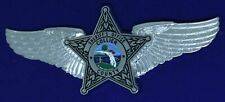 Collier County Sheriff Florida Badge Air Unit Aviation Airline Pilot Wing PW