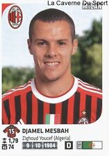 DJAMEL MESBAH # ALGERIE AC.MILAN RARE UPDATE STICKER CALCIATORI 2012 PANINI