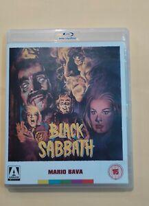 I 3 VOLTI DELLA PAURA (BLACK SABBATH) BAVA 3-DISC BLU-RAY+2 DVD-ARROW ED-RARO!!!