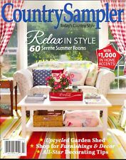 Country Sampler July 2017 Upcycled Garden Shed-Country Style-Furnishings-Decor