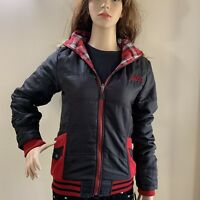 JETPILOT Ladies Lumber JACKET SIZE 10 Removable Hood Hoodie