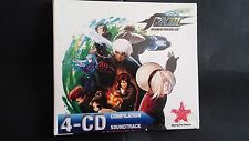 THE KING OF FIGHTERS XIII BANDA SONORA ORIGINAL SOUNDTRACK 4 CD'S,NUEVO