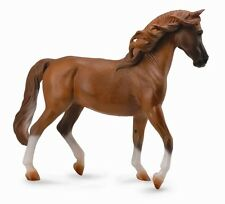 DELUXE 1:12 SCALE CHESTNUT ARABIAN ARAB MARE 23cm HORSE MODEL by COLLECTA 88746