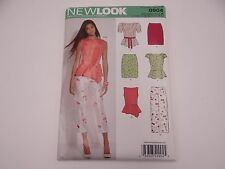 NEW LOOK 0904 Misses Skirt Capri Tunic Top SEWING PATTERN Sizes 8-18 NEW