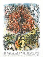 Sainte Famille by Marc Chagall - Rare 1976 Original Lithograph Art Print Poster