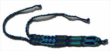 - Bright Colorful Ft11 - New Guatemalan Wide Friendship Bracelet - Us Seller