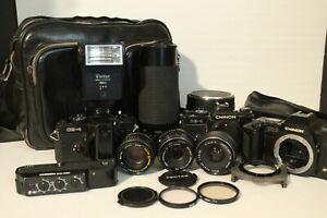 Vintage Cameras & Lenses + Accessories Pentax+More