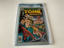 TOMB OF DARKNESS 21 CGC 9.4 ATOMIC EXPLOSION COVER MARVEL COMICS 1976