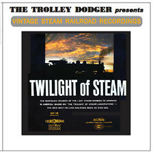 The Twilight of Steam - Railroad Audio on 3 CDs - Long Out-of-Print