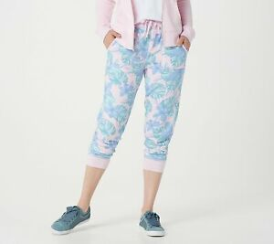 Tracy Anderson for G.I.L.I. Petite French Terry Jogger (Blue Palm, 1XP) A365534