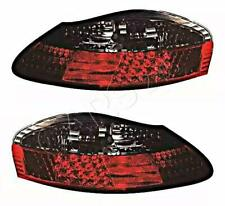DEPO LED Red Gray Tail Light Rear Lamp Pair Fits PORSCHE Boxster 1996-2004