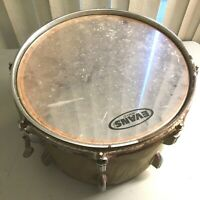 """Vintage Pearl 12"""" x 8 1/2""""  Utility  Snare Drum, Silver"""