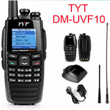 TYT DM-UVF10 DPMR Digital Transceiver Talkie 2 Way Radio 5W VOX GPS Ham Amateur