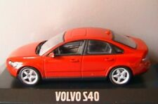 VOLVO S40 TS 2003 PASSION RED MINICHAMPS 1/43 BERLINE ROUGE ROSSO ROT SALOON