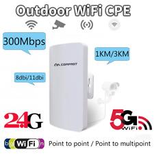 300Mbps Long Range Outdoor WIFI Access Point Router 2,4/5.8G CPE Bridge WLAN-AP