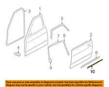 JAGUAR OEM 95-03 XJ6 XJ8 REAR DOOR Body Side Molding Left HNA5715BD