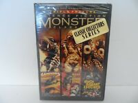 Science Fiction Monster Classics Triple Feature Gammera Invincible / Night NEW
