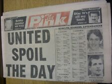 25/08/1990 Coventry Evening Telegraph The Pink: Main Headline Reads: United Spoi