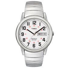 Timex T20461 Reloj de Hombre De Plata Fácil Lector Expansor RRP £ 49.99