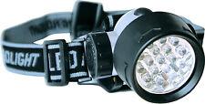 17 Power LED Kopflampe Zebco Stirnlampe superhell Camping- u. Anglerlampe