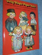 1978 Dolly Dingle Paper Dolls (30 Antique dolls) by Grace Drayton, Reproduction
