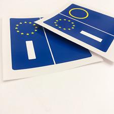 Kit 4 pezzi adesivi adesivo per targa europa per auto... Stickers...