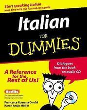 Italian for Dummies? by Francesca Romana Onofri; Karen M?ller; Berlitz Editors