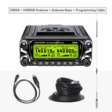 Zastone ZT-D9000 Mobile Radio 50km Ham Car Walkie Talkie 50W Dual Band Whole Set