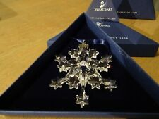 SWAROVSKI 2004 CHRISTMAS ORNAMENT 631562