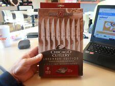 Chicago Cutlery Landmark 9-Piece Stainless Steel Steak Knife Set