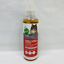 New listing Gnc Pets Hairball & Shed Control Waterless Shampoo for Cats Cherry Almond 12oz